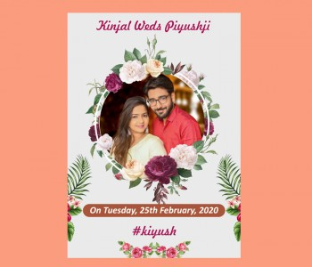 I will Design Beautiful Invitation Card design for Marriage functions