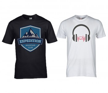 I will Create Attractive & Beautiful text and Design for T-shirts with 3 Mock-up Sample
