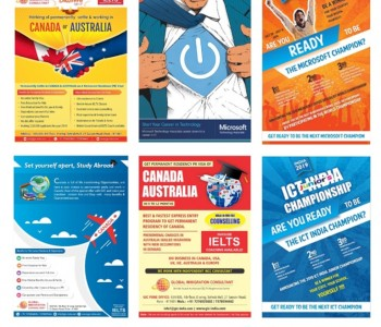 I will Design a Attractive Flyers & Poster Design with Info graphic  Showcase