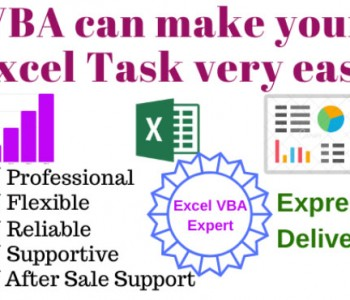 I will automate your Microsoft Excel task using VBA, Macros and Functions