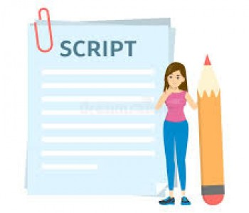 I will write a professional script for your business upto 200 words for Rs.500